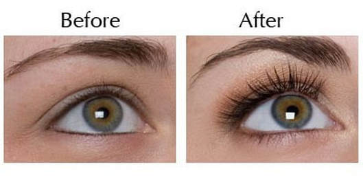 LashPerm Before & After