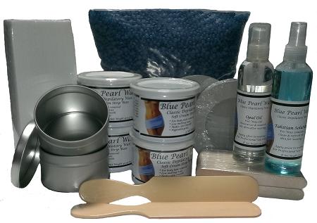 Blue Pearl Wax Kits